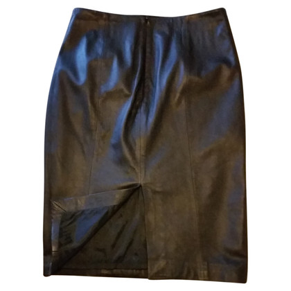 Hobbs Leather skirt
