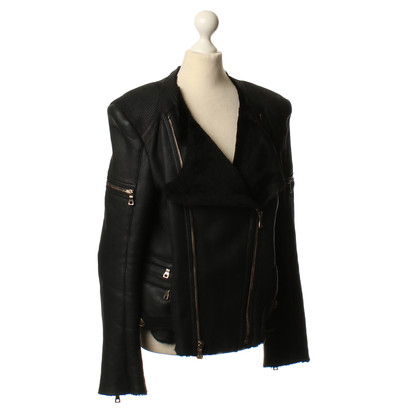 Balmain Lambskin leather jacket