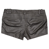 Patrizia Pepe Kunstleder-Shorts