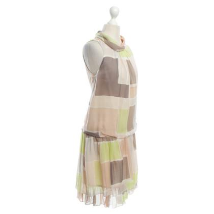 Patrizia Pepe Silk dress with pattern