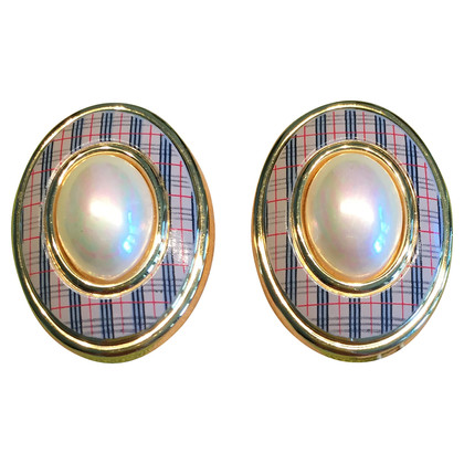 Burberry Clip earrings
