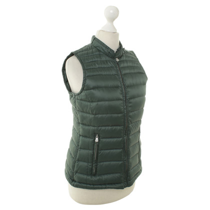 Peuterey Quilted vest in dark green