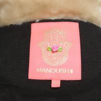 Manoush Waistcoat with woven fur