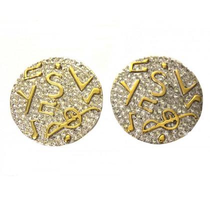 Yves Saint Laurent Round Earrings
