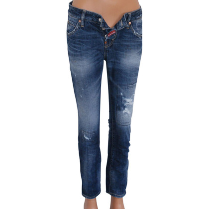 Dsquared2 Jeans Skinny Vintage Destroyed