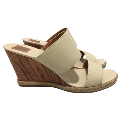 Tory Burch Wedges in Creme