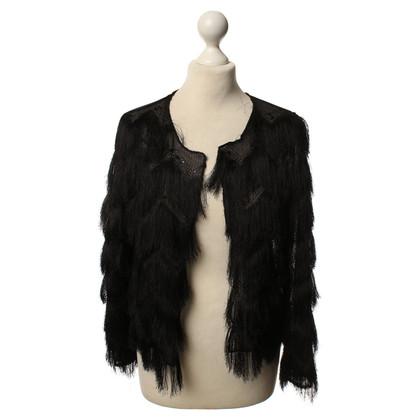 Andere Marke Ana Alcazar - Kurze Jacke mit Fransen