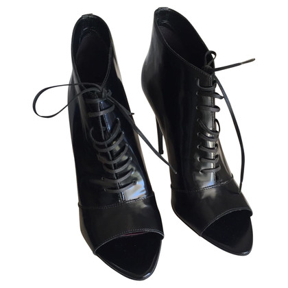 Burberry Peep Toe Boots