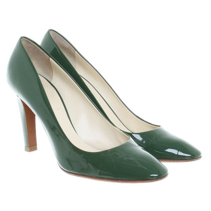 Miu Miu pumps in vernice verde