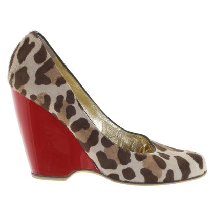Giuseppe Zanotti pumps with Animalprint