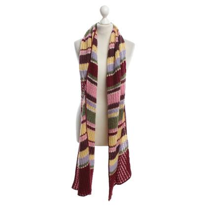 Missoni Striped scarf in color