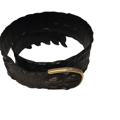 Céline Belt made of crocodile leather