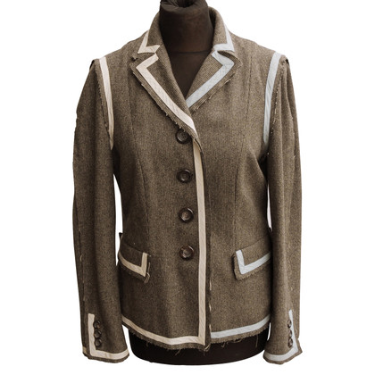 Moschino Cheap and Chic Blazer aus Wolle