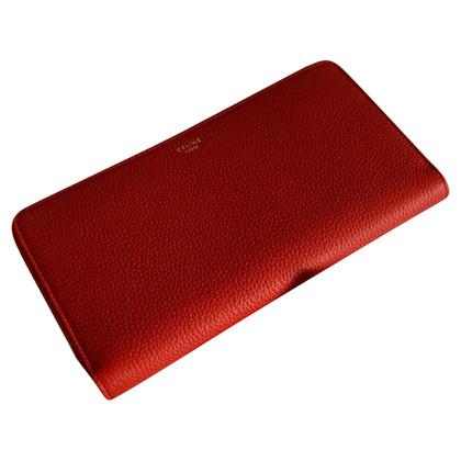 Céline Portafoglio in rosso