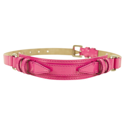 Burberry Prorsum Patent leather belt