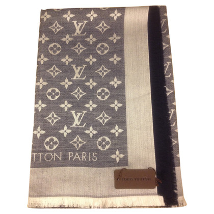 Louis Vuitton Panno denim Monogram in blu