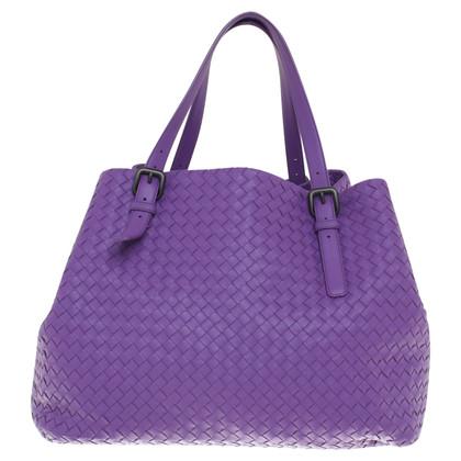 Bottega Veneta Shoppers in Violet