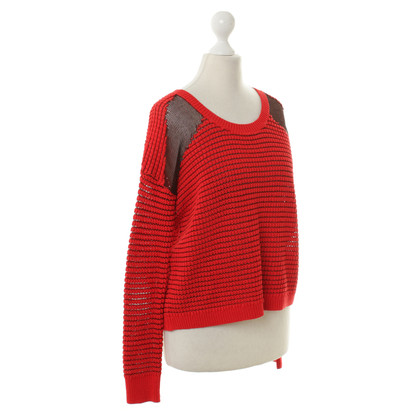 The Kooples Roter Pullover