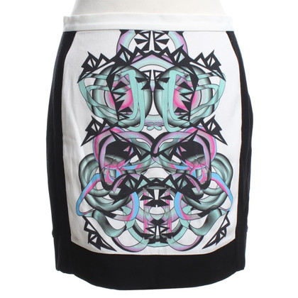 Sandro skirt with motif print