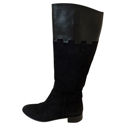 Charlotte Olympia Boots in black