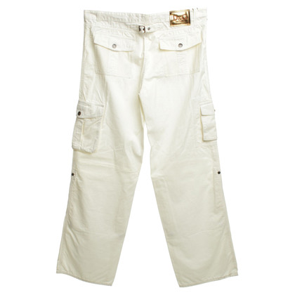 D&G Pants in White