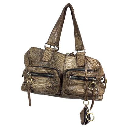 Chloé Snake leather bag