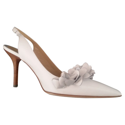Pollini Slingbacks in white