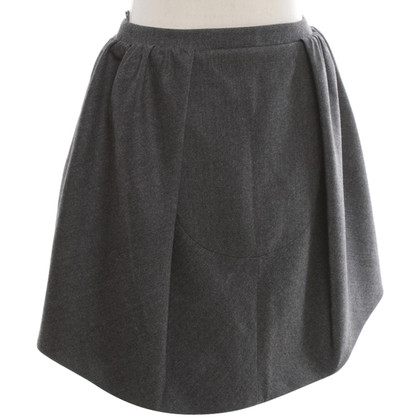 Carven Wool skirt in grey