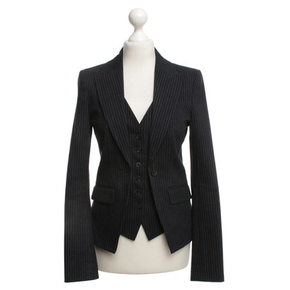 Drykorn Blazer with pinstripes
