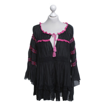 Odd Molly Blouse with details in pink