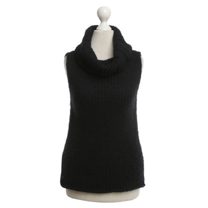 Gucci Roll collar sweater in black