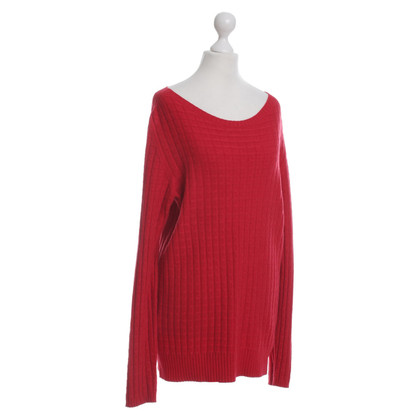 Stefanel Red knit pullover
