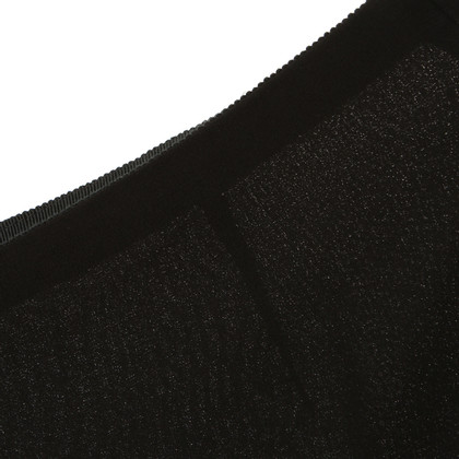 Akris Seidenhose in Schwarz