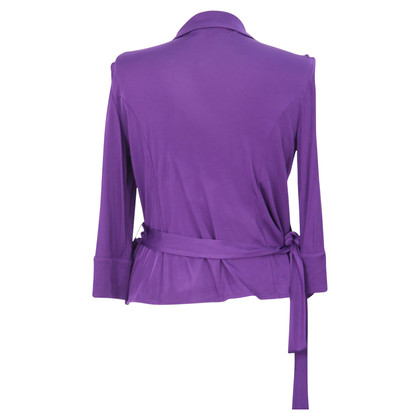 Hobbs Wikkel Top in Violet