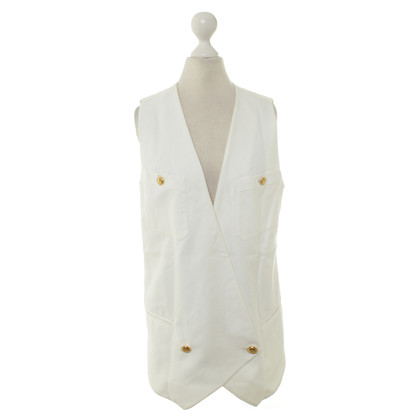 Chanel Vest in white
