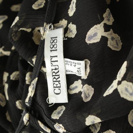 Echte Online Cerruti 1881 Bluse mit Muster Bunt / Muster Billig Verkauf Shop Billiger Großhandel Qd56ryKr92