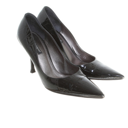 Dolce & Gabbana Patent leather Pumps in black