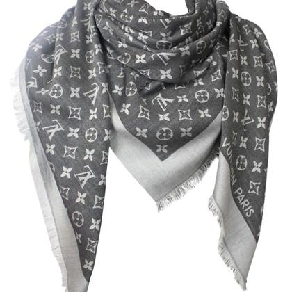 Louis Vuitton Monogram Denim Tissu en noir