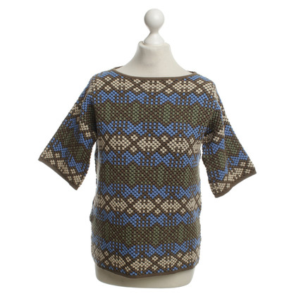 Stefanel Sweater with colorful patterns