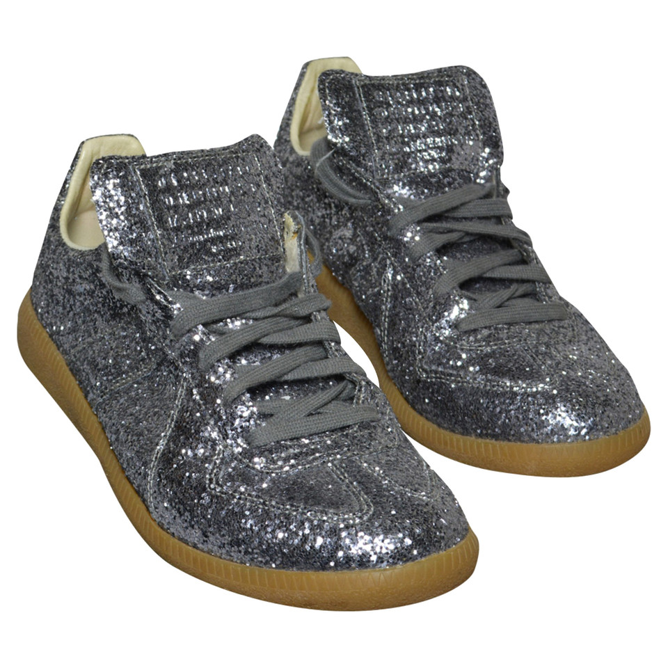 maison martin margiela chaussures de sport glitter. Black Bedroom Furniture Sets. Home Design Ideas