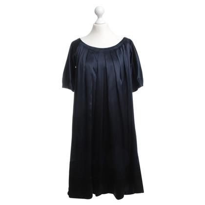 DKNY Silk dress in Midnight Blue