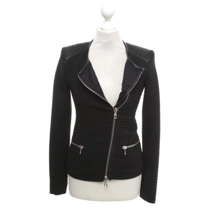 Set Kort jasje in zwart