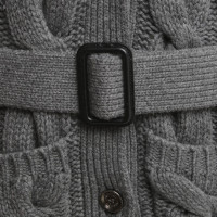 Burberry Jacket with plait knit pattern