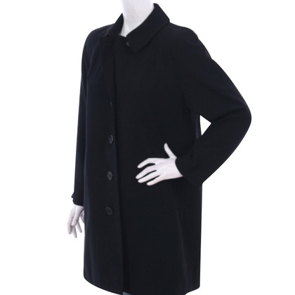 Ralph Lauren Purple Label lana sottile del cappotto del rivestimento