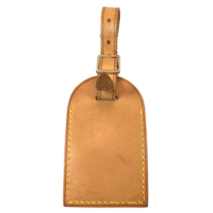 Louis Vuitton Adressanhänger aus Leder