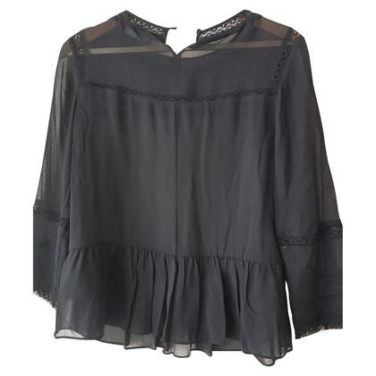 Karen Millen blouse zwart