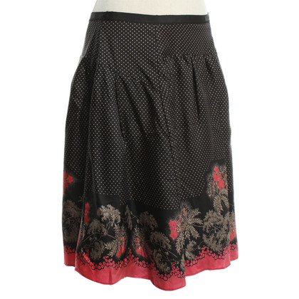 Ted Baker Silk skirt with pattern