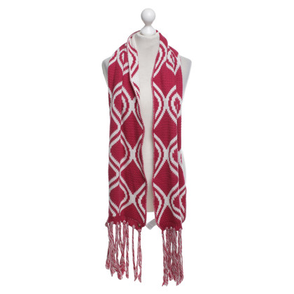 Patrizia Pepe Scarf with weave pattern