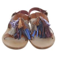 Isabel Marant Etoile Sandales en multicolore