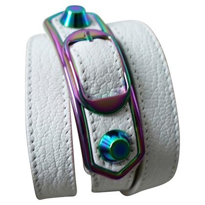 """Balenciaga """"Bordo metallico Tripla Classic Tour Bracelet"""""""